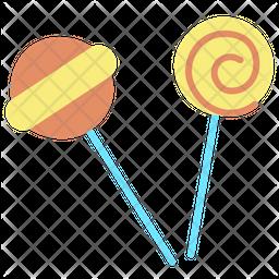 Lolipop Flat Icon