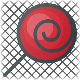 Lollipop Colored Outline Icon