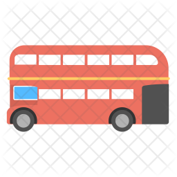London Bus Icon Of Flat Style Available In Svg Png Eps Ai Icon Fonts