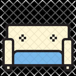 Long sofa Icon