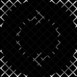 Loop Glyph Icon