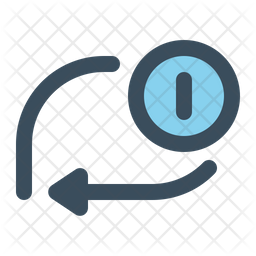 Loop once Icon