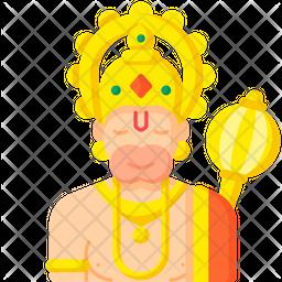 Lord Hanuman Icon