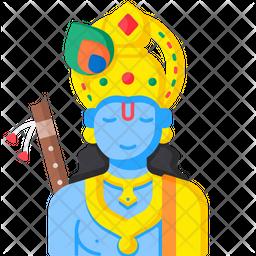 Lord Krishna Icon