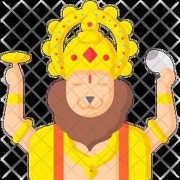 Lord Narasimha Icon