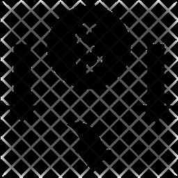 Loss Glyph Icon