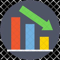 Loss Chart Icon