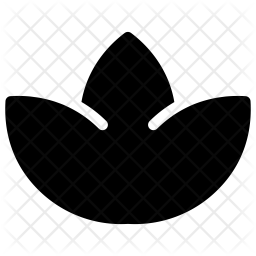 Lotus Glyph Icon