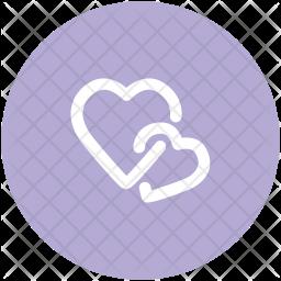 Love Glyph Icon