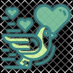 Love Bird Icon