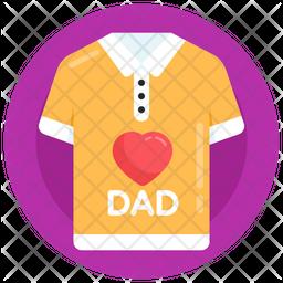 Love Dad Shirt Icon
