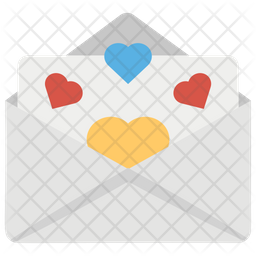 Love Letter Flat Icon