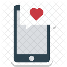 Love Message Colored Outline Icon