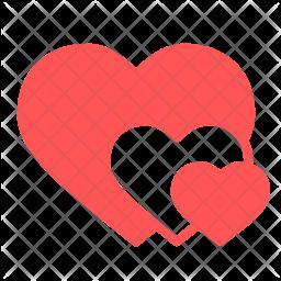 love romantic valentine valentines day heart hearts icon