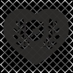 Love shield Icon