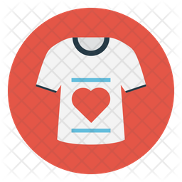 love tshirt icon of flat style available in svg png eps ai icon fonts iconscout
