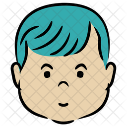 Lovely Boy Icon Of Colored Outline Style Available In Svg Png Eps Ai Icon Fonts