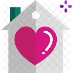 Lover House Icon Of Flat Style Available In Svg Png Eps Ai Icon Fonts