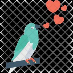 Loving Bird Icon