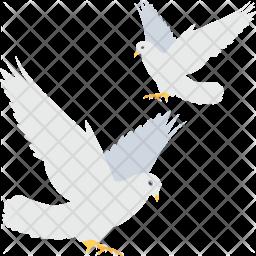 Loving Birds Icon