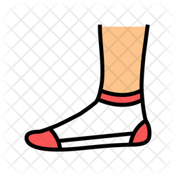 Low sock Icon