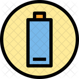 Lower battery Icon