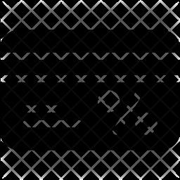 Loyalty card Glyph Icon