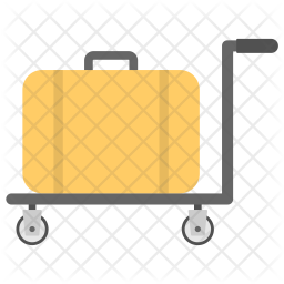 Luggage Trolley Icon png