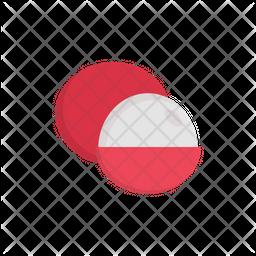 Lychee Flat Icon