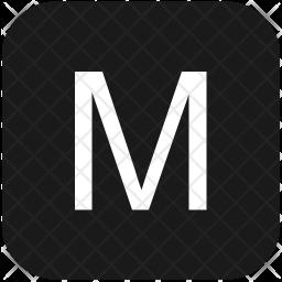 M letter Icon