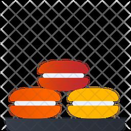 Macarons Gradient Icon