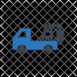 Machinery Truck Icon