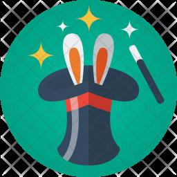 Magic, Hat, Rabbit, Stick, Show, Amaze Icon png