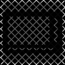 Magna Doodle Glyph Icon