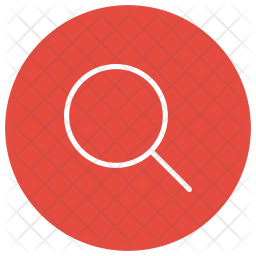 Magnifier Glyph Icon