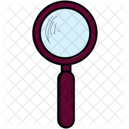 Magnifier glass Icon