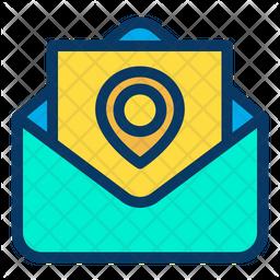 Mail Location Icon