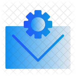 Mail Optimization Gradient Icon