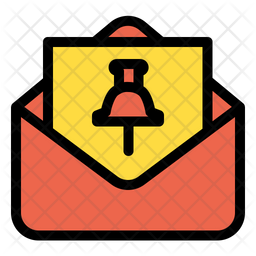 Mail Pin Icon