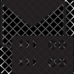 Mail Server Glyph Icon