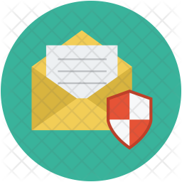 Mail shield Icon