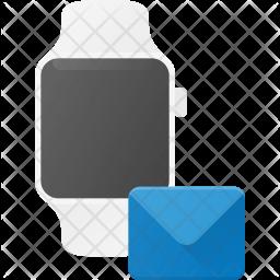 Mail synchronization in Watch Icon