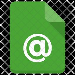 Mailid file Icon