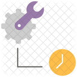 Maintenance Time Icon