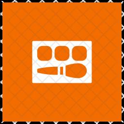 Makeup Kit Glyph Icon