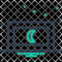 Maldives Line Icon
