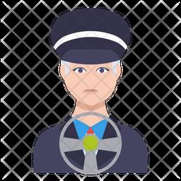 Male Driver Icon