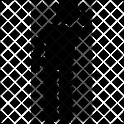 Man Glyph Icon