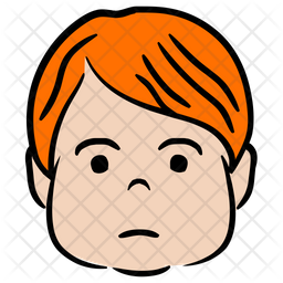 Man Colored Outline Icon