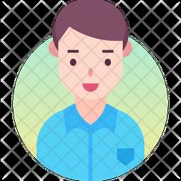 Man Gradient Icon